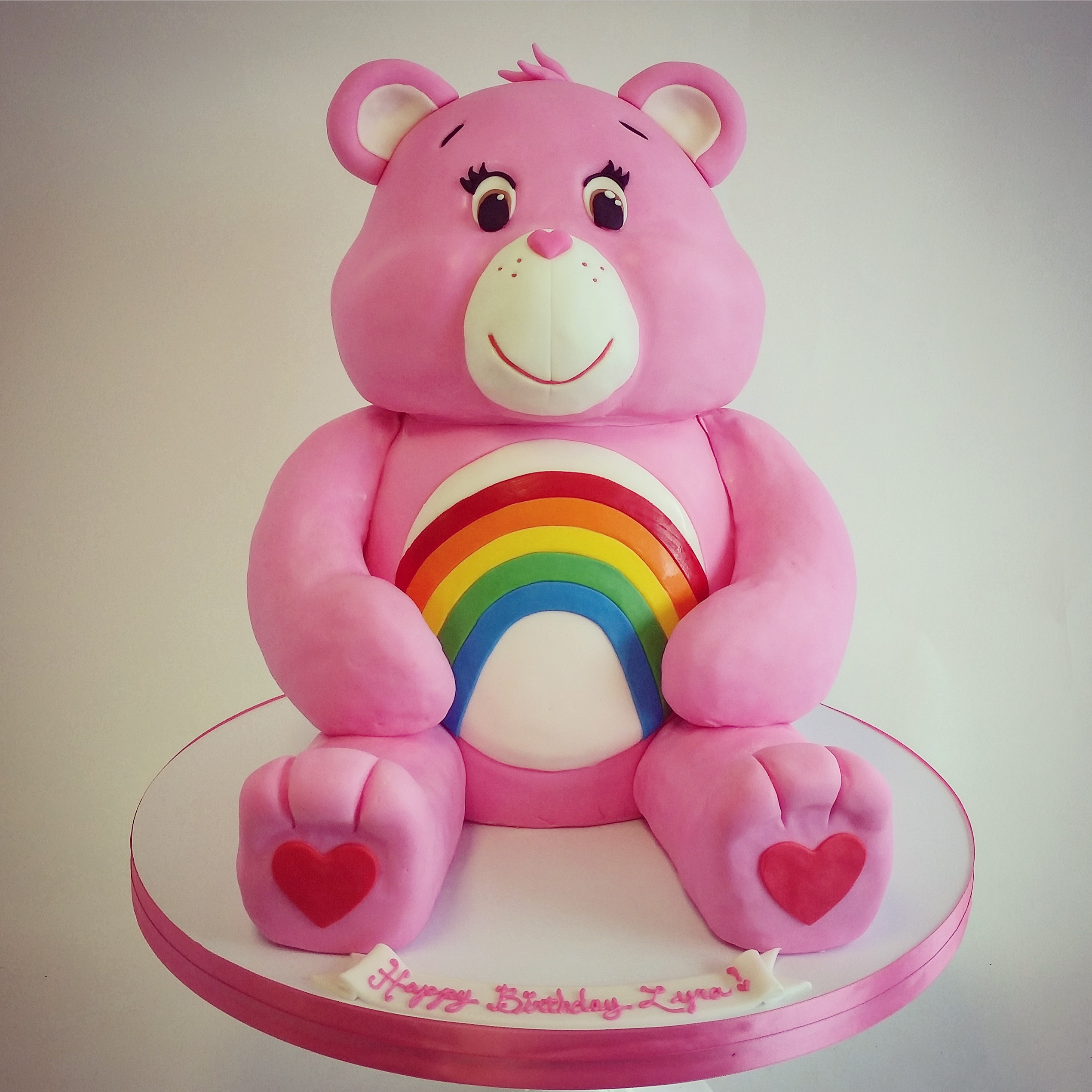 5 Out Of Stars Care Bear Birthday Cake